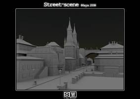 Street Scene Occlusion by iFeelNoSorrow