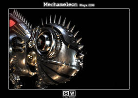 Mechameleon Head by iFeelNoSorrow