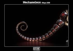 Mechameleon Tail by iFeelNoSorrow