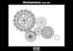 Mechameleon Gear Occlusion by iFeelNoSorrow