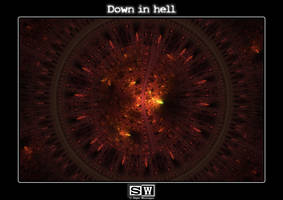Down in hell by iFeelNoSorrow