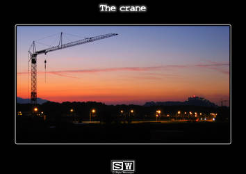 The crane by iFeelNoSorrow