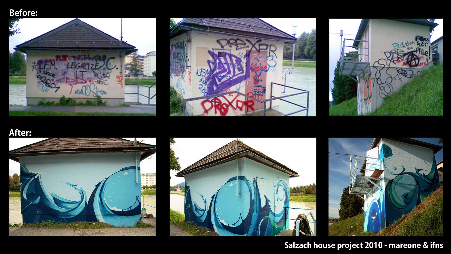 Graffiti Project: Salzach by iFeelNoSorrow