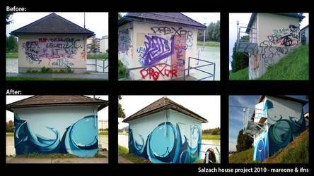 Graffiti Project: Salzach by iFeelNoSorrow
