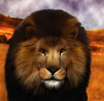 lion by LogartRU