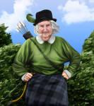 Grandmother Robin Hood. by LogartRU