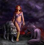 Moran-queen 'fire eaters'. by LogartRU