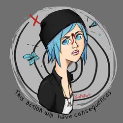 Life is Strange Chloe Fan Art by BiteMeFox