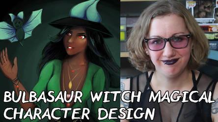 Magical Girl Witch Bulbasaur Fan Art Thumbnail by BiteMeFox