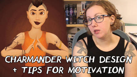 How to Stay Motivated as an Artist | Charmander Wi by BiteMeFox