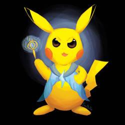 Pikachu Magical Girl Pokemon P4 by BiteMeFox