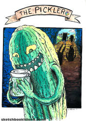 The Pickler from Card Wars by DGGibbons