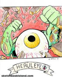 Herculeye from card Wars by DGGibbons