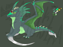 Scythe dragon thing adopt - CLOSED by NoctaAdopts