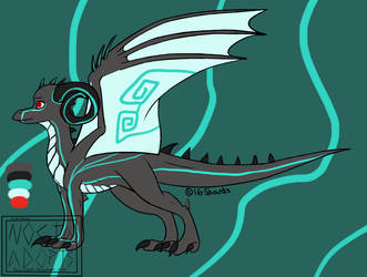 Thunder dragon adopt - CLOSED by NoctaAdopts