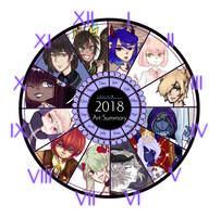 Art Summary 2018 By Oh No Castiel-dcv5v1n (1) by uraumi