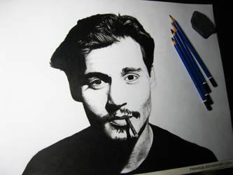 Johnny Depp by Finihous