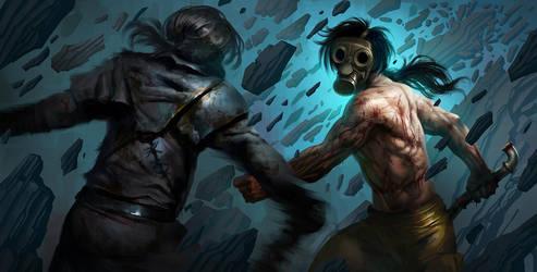 Fight by lordeeas
