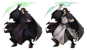 Grayson Gruber - Snape by lordeeas