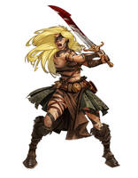 Sigrun the Slayer by lordeeas