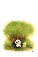 panda by OrcOYoyo