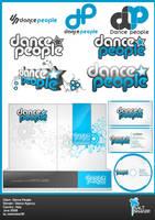 Dance People Logo , Stationery by saltshaker911