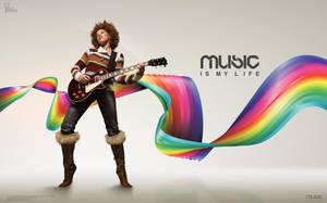 Music is my Life by saltshaker911