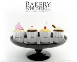 Bakery Web Design by saltshaker911