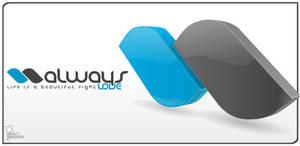 Always Love 3D logo by saltshaker911