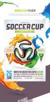 Brazil Soccer Cup 2014 Flyer by saltshaker911
