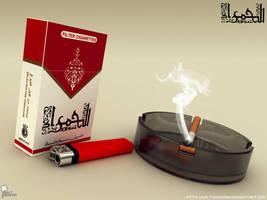 40Cent cigarette by saltshaker911