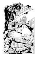 Harley Quinn Inks by Sereglaure