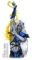 Spelldancer Color Test by KMCgeijyutsuka