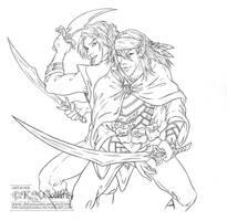 TRADE: Shiz and Karzzim by KMCgeijyutsuka