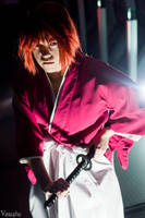 Kenshin Costume at Ohayocon 2015 II by KMCgeijyutsuka