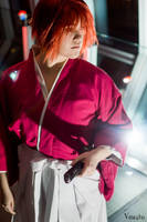 Kenshin Costume at Ohayocon 2015 III by KMCgeijyutsuka