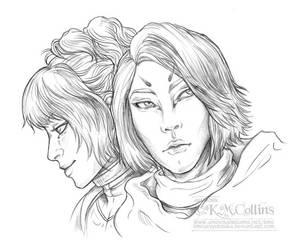 Destiny Awoken Hunters by KMCgeijyutsuka