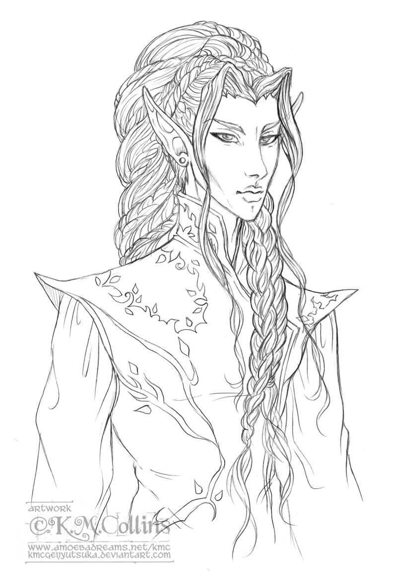 Lureiell's Hair by KMCgeijyutsuka
