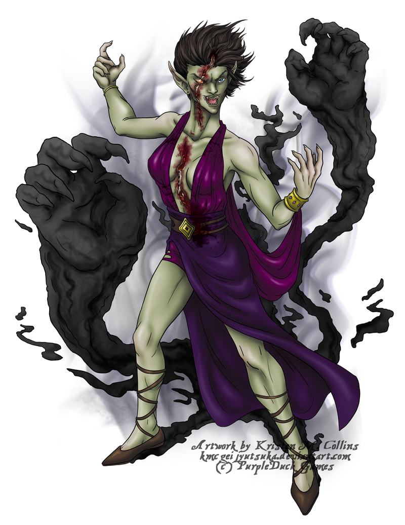 Undead Creature for PurpleDuck Games by KMCgeijyutsuka