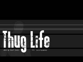 thug Life simple by mariekris