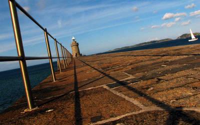 Castle Cornet Lighthouse by dk-s