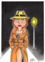 Gumshoe Lois by kiff57krocker