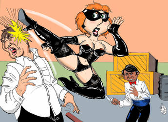 Lethal Lois 6 - The Leather Lady Strikes by kiff57krocker