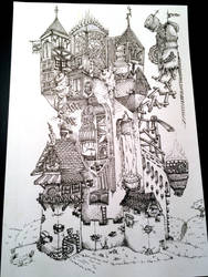 Doodle Castle by TimBaldwin