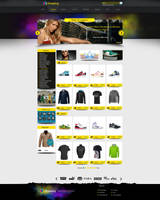 web shopping design by AbdelhakBoukili