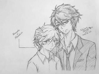 Kousuke X Masahiro(Hitorijime My Hero) by TakahaneAzusa