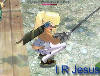 I R Jesus by Waterclaw