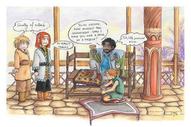 Divergence of customs by Naa-
