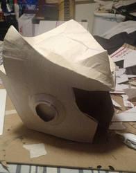 Zero helmet Progress by HellBent-Cosplay