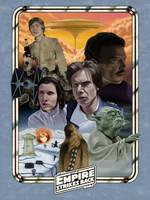 The Empire Strikes Back: 1980 by DarklighterDigital